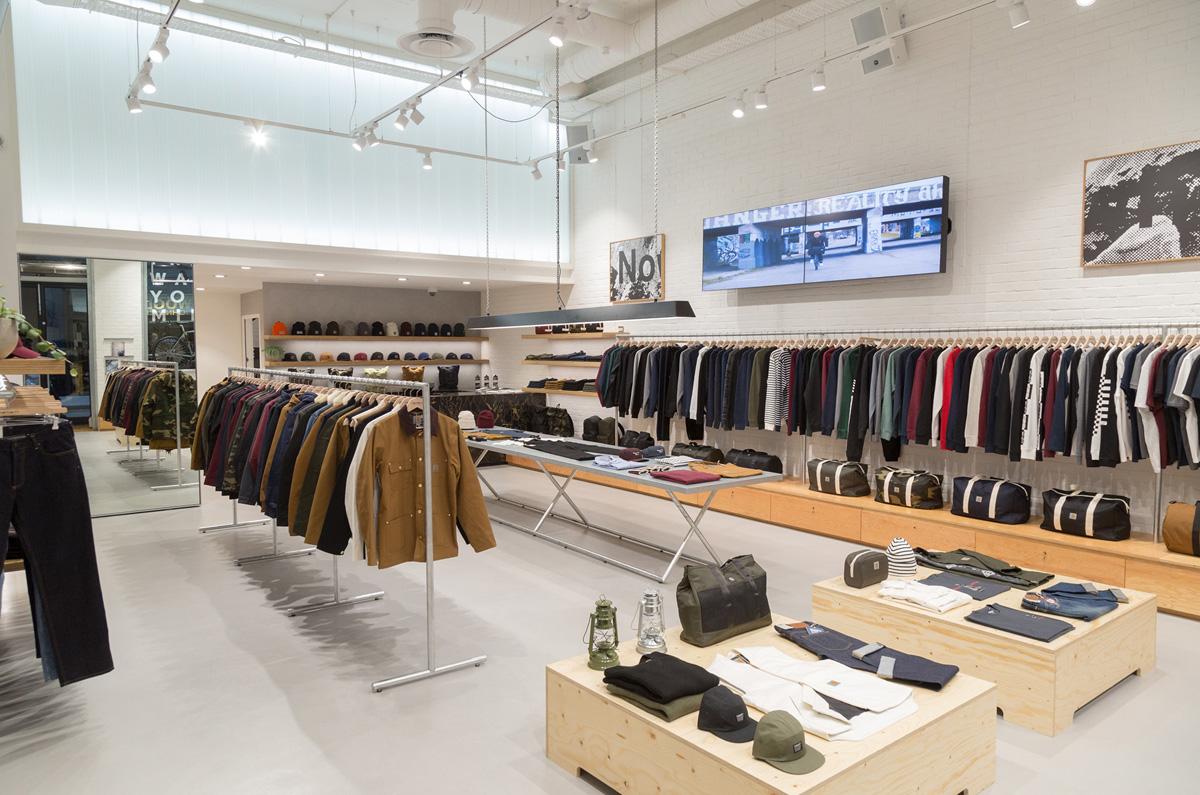 A Look Inside Carhartt Wip S New Soho Store